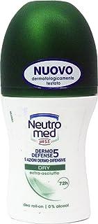 6 X Neutromed Dermo Defense 5 Dry Deodorante Roll-On 50 ml