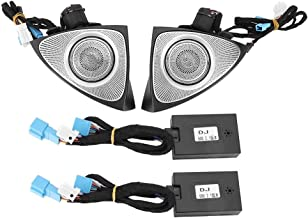 KSTE 3D giratoria Agudos de Audio con la atmósfera de la lámpara Fit Compatible with Mercedes-Benz C/GLC 15-18 (de 3 Colores)
