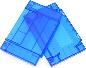 Cinpel Replacement US Version Game Cartridge Shell for Nintendo Super NES Transparent Blue