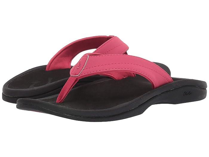 Ohana W  Shoes (Passion Flower/Black) Women's Sandals