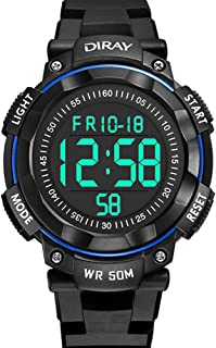 Kids Digital Watches, DIRAY Mens Boys Sport Watches...