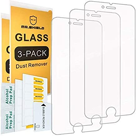 Mr.Shield [Tempered Glass] Screen Protector For iPhone 6...