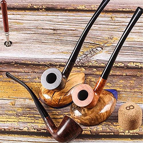 XiangRuiDa Tubos Largos de Tabaco Tubería de Cigarrillo de Tabaco de Tabaco de Tabaco para Mujer para Mujeres Hombres y amp Todos los entusiastas de Fumar-CBeautiful