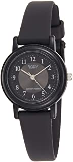 Casio Women's Black Dial Resin Analog Watch - LQ-139AMV-1B3LDF