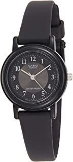 Women's LQ139A-1B3 Black Classic Resin Watch