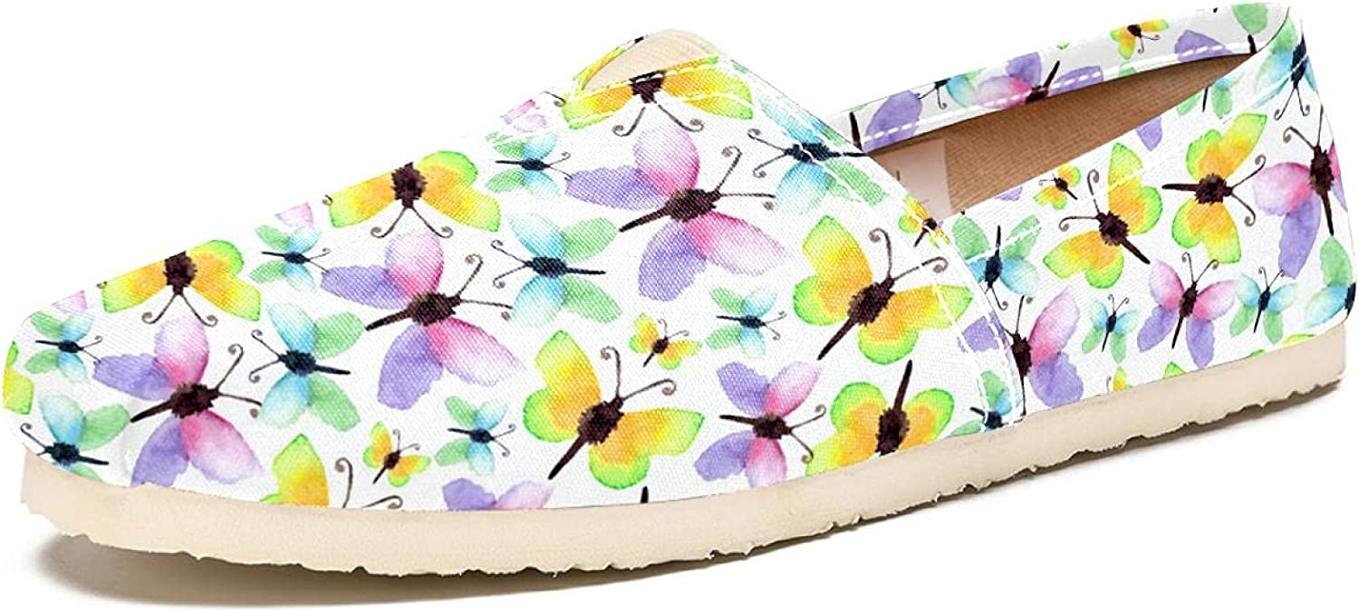 Women's Shoes Canvas Fashion Travel P Watercolor 25% OFF Butterfly Animer and price revision