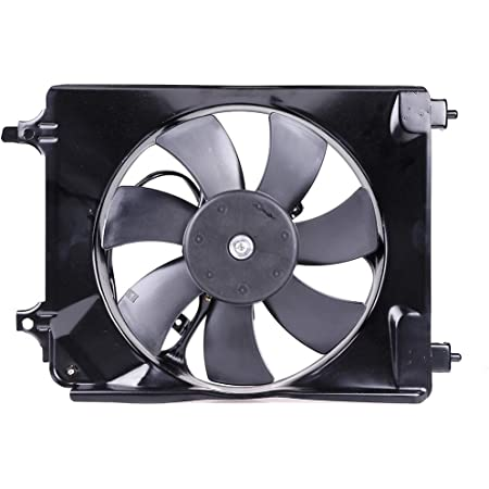 SCITOO Radiator AC A/C Condenser Cooling Fan Assembly Compatible with 2006-2011 Honda Civic