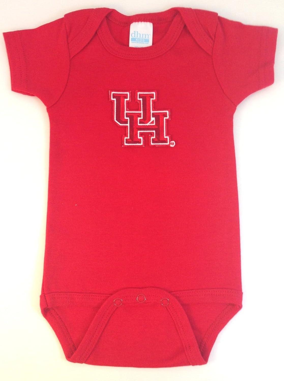 Houston Cougars Team Spirit Baby Onesie