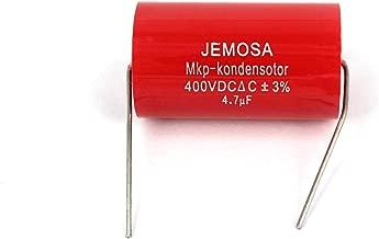 JEMOSA MKP Kondensotor 400VDC 4.7uf ±3% Audio Capacitor Amplifier HiFi Frequency Divider Capacitance 5PCS/Lot