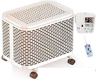 Calentadores JinXQ Vida Radiador eléctrico Hogar Ahorro de energía Potencia Aceite Pequeño Ventilador Fuego Blanco (Color : Blanco)