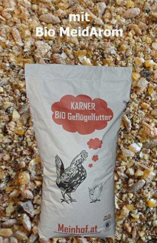 Bio Legehennenfutter gegen Milben mit MilbArom®ÖVO im 30 kg Sack
