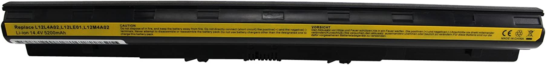 Gomarty 14.4V 5200MAH Laptop Battery for LENOVO G400s G405s G410s G500s G505s G510s S410p S510p Z710 Touch Series,Compatible Part Numbers L12L4A02 L12L4E01 L12M4A02 L12M4E01 L12S4A02 L12S4E01