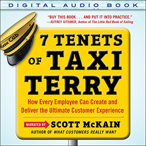 7 Tenets of Taxi Terry audiobook cover art