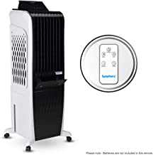 Symphony Diet 3D 30i Personal Tower Air Cooler 30-litres with Magnetic Remote, 3-Side Cooling Pads, Pop-up Touchscreen, Mu...