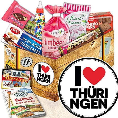 I Love Thüringen ++ Süßigkeiten Set DDR ++ Thüringen Geschenk