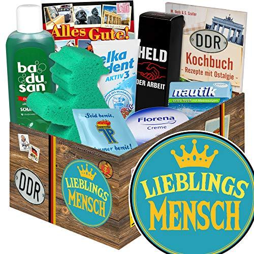 Lieblingsmensch / Pflege Box aus der DDR / Geschenke Idee für Männer
