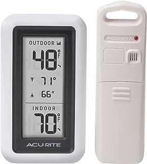 AcuRite 00424CA Digital Thermometer with Indoor/Outdoor Temperature