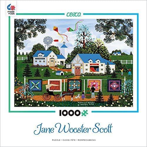 garantizado Ceaco Jane Wooster Scott - Patchwork Sampler Puzzle Puzzle Puzzle by Ceaco  artículos de promoción