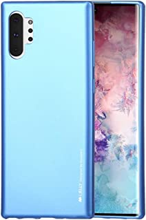 QFH i-JELLY TPU Shockproof and Scratch Case for Galaxy Note 10+ (Black) new style phone case (Color : Blue)