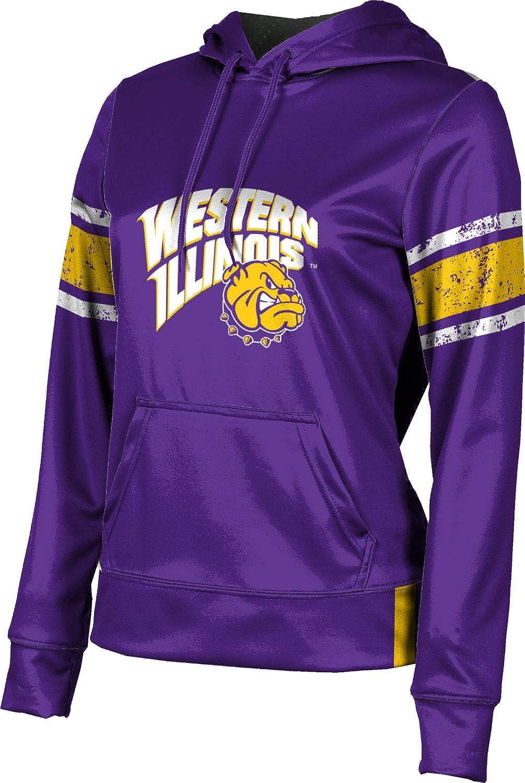 ProSphere Western Illinois University Girls' Pullover Hoodie, School Spirit Sweatshirt (End Zone)