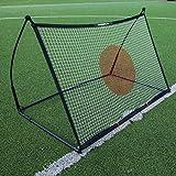 QUICKPLAY Spot Ziel Fußball Rebounder 1,5 x 1M - Jetzt mit kostenloser eCOACH