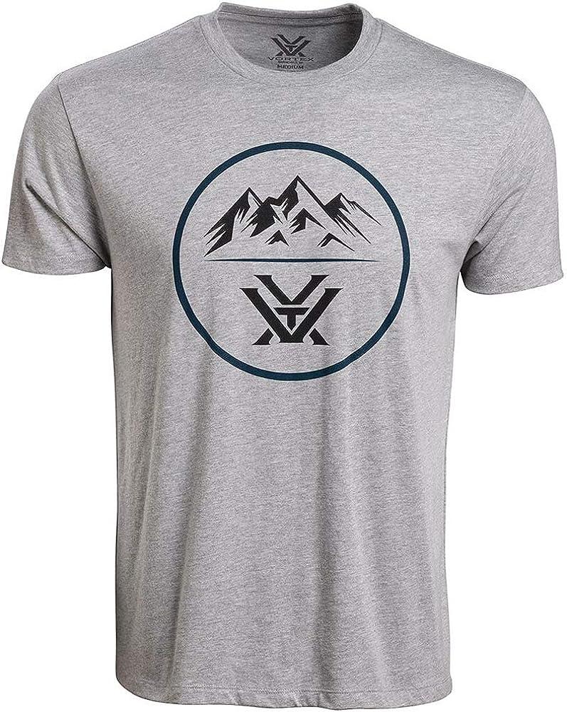 Vortex Optics Three safety Branded goods Peaks Short Sleeve Shirts