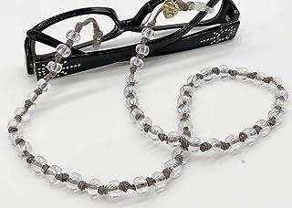 Collana porta occhiali, cordino occhiali, cordoncino occhiali, catena porta occhiali fatti a mano, hand made, made in Ital...