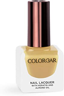 Colorbar Nail Lacquer, Golden Honey, 12 ml
