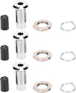 LED-hållare, 20st lamphylsa 5mm ljusdiodhållare LED-hållare Fäste F5 platt mässingshållare för att fästa lysdioder på styr...