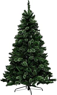 Christmas By Sas Christmas Tree 550 Pine Tips Full Figure Easy Assemble 1.8m
