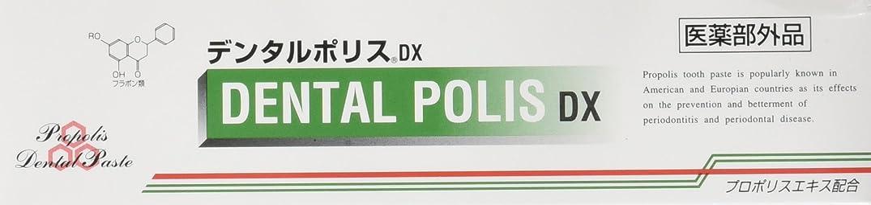 甘味遺棄された枯渇するデンタルポリスDX  80g   3本セット   医薬部外品  歯みがき
