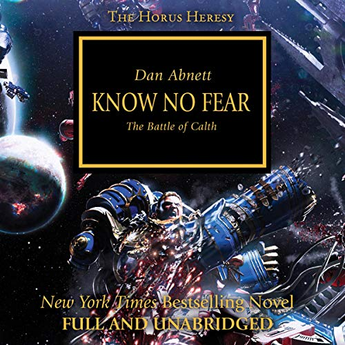 Know No Fear audiobook cover art