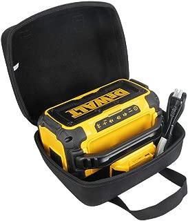 Hermitshell Hard Travel Case for DEWALT DCR010 20V Max Bluetooth Jobsite Speaker