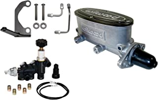 Wilwood 261-13270 Aluminium Tandem Master Cylinder Kit (w/Brkt & Prop Valve 1.12in)