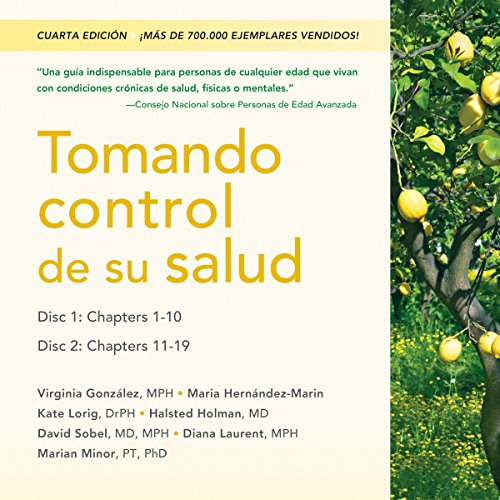 Tomando control de su salud [Living a Healthy Life with Chronic Conditions] audiobook cover art