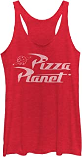 Toy Story Women's Pizza Planet Logo Racerback Tank Top