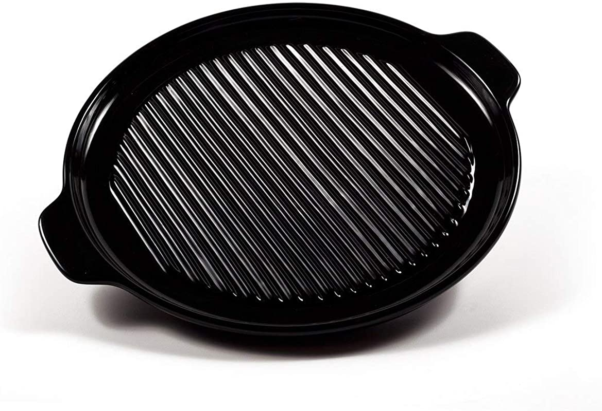 12 Inch Round Baking Pan 100 Pure Ceramic Cookware Ceramic Pizza And Broiling Pan By Xtrema