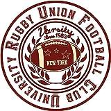 University Rugby Union Football Club Sport Stamp Vinyl Decal Bumper Sticker/Autocollant