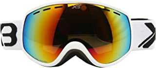 Aooaz Tpu Over Glasses Ski Snowboard Goggles For Boys Girls Youth 100% Uv Protection