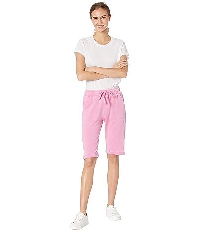 Splendid Mariposa Brushed Terry Bermuda Shorts (Peony) Women
