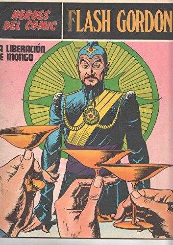 Flash Gordon de Burulan numero 011 (numerado 1 en trasera): La liberacion de Mongo