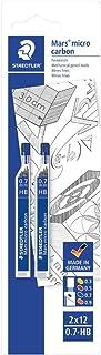 Staedtler 2507HBBK2D Mina Sottile, 0.7 mm HB, 2 Pezzi