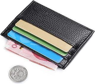 Westeng Petaca delgada Marca para hombre para tarjetas de crédito, tarjetas de identificación, etc