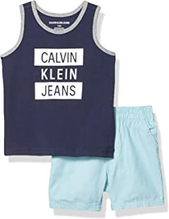 Calvin Klein Boys' 2 Pieces Tank Short Set