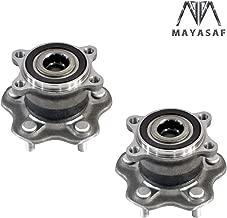 MAYASAF 512388x2 Rear Driver/Passenger Side Wheel Hub and Bearing Assembly fits fit Infiniti JX35/Q60, 2007-15 Nissan Altima/13-15 Pathfinder/09-11 Maxima /2015 Murano