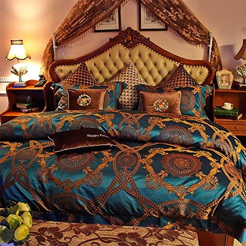 BB.er Upscale nackt schlafen Seide Bettwäsche 4-Stück Seide Doppelseitige Blätter Haushaltswaren