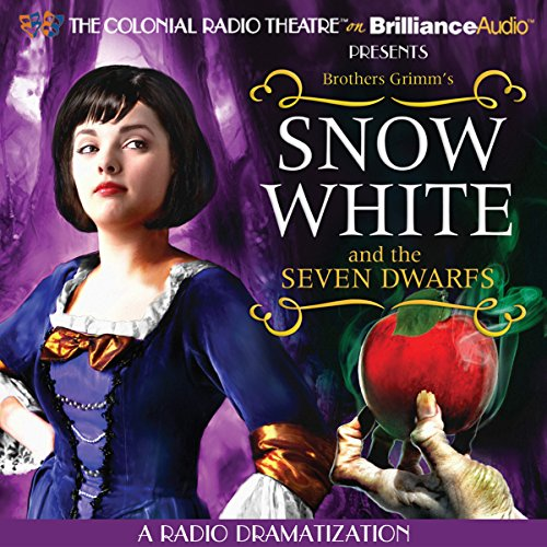 Snow White and the Seven Dwarfs     A Radio Dramatization               By:                                                                                                                                 Brothers Grimm,                                                                                        Jerry Robbins (dramatization)                               Narrated by:                                                                                                                                 The Colonial Radio Players                      Length: 40 mins     1 rating     Overall 4.0