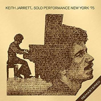 Live At The Skinner Hall, Vassar College, Ny 13 Feb '75 (Remastered)