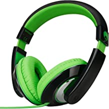 RockPapa On Ear Stereo Headphones Earphones for Adults Kids Childs Teens, Adjustable,..