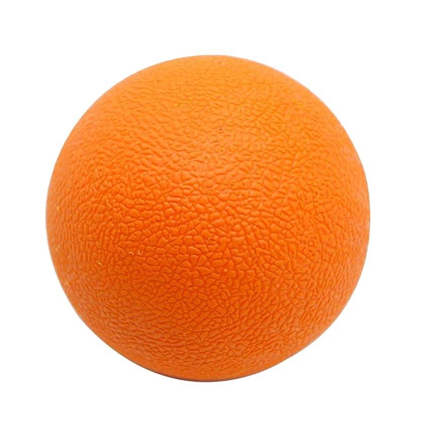 阻害するせっかち苦FLAMEER マッサージボール TPE トリガーポイント 筋膜リリース ツボ押しグッズ 足、腕、首、背中 オレンジ